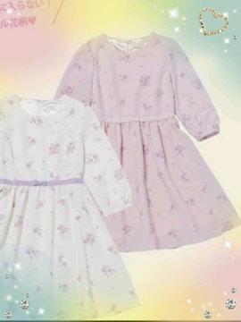 新品☆ロディスポット*花柄ワンピ(ピンク)