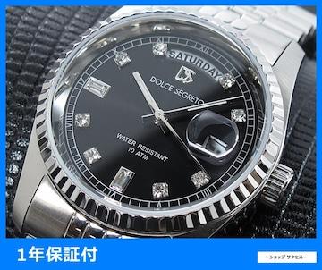 新品 即買い■ドルチェセグレート 腕時計 OP300BK グレー