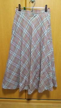 中古 ロングスカート  63�p