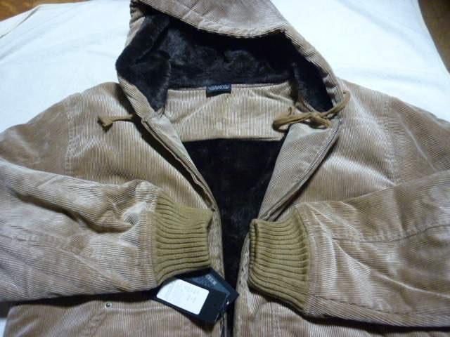 新品!コーデュロイフードJKT・L アメカジマッコイ東洋Nハリ < 男性ファッションの