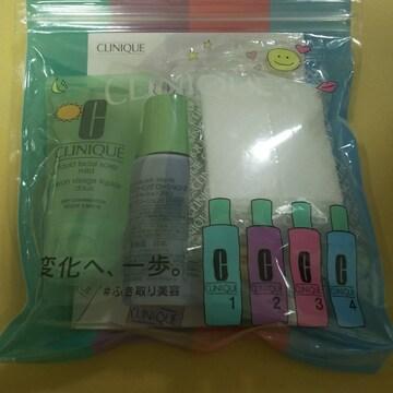 CLINIQUE  コットンセット ローション 洗顔化粧水乳液セット