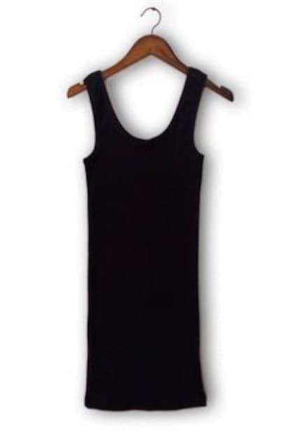 E55 ボディコンワンピース 黒 人気 売れ筋 送料込  < 女性ファッションの