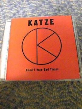 CD:KATZE(カッツェ)GoodTimesBadTimes