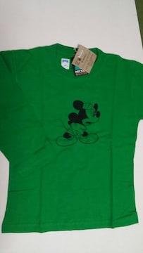 新品・タグ付 ミッキー7分袖Tシャツ:M