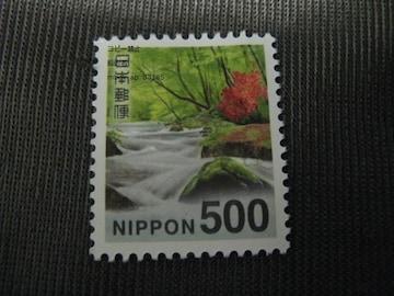 500円普通切手新品未使用★ポイント切手金券支払い可