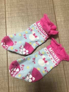 新生児〜女の子ベビ靴下ディズニーミニー
