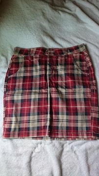 W80 / チェックタイトスカート
