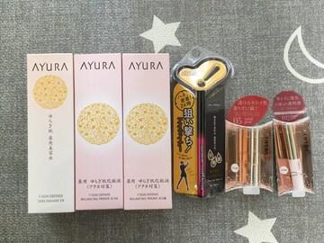 新品化粧品6点セット半額8000円 アユーラ OPERA定価15800円