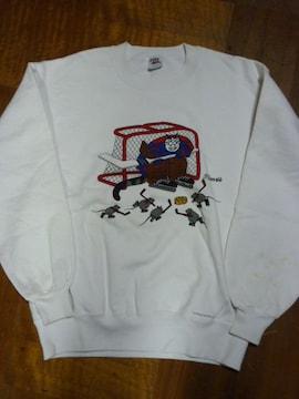 USA古着Crazy shirts クレイジーシャツHSクリバンキャットハワイ
