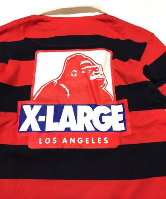 XLARGE×FATエクストララージコラボラガーシャツ美品M < ブランドの