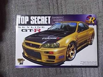 アオシマ 1/24 トップシークレット GT-R スカイライン R34