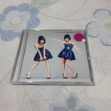 イッツオールラブ 倖田來未 × misono/ CD マキシ