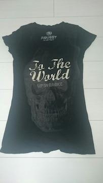 MOUSSY☆黒Tシャツ☆美品