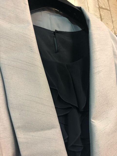 新品☆21号3L4L大きいサイズボレロ付きパーティワンピースs786 < 女性ファッションの