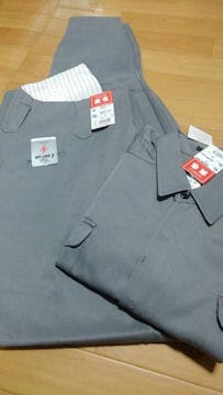 送料込★寅壱『0549グレー』トビシャツ3L.超超ロング八分95cm