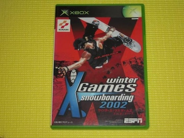 winter X Games snowboarding 2002