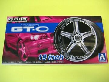 アオシマ 1/24 ザ・チューンドパーツ No.70 ボルクレーシング GT-C 19インチ