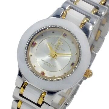 ジョンハリソン  クオーツ レディース 腕時計 CCL-001WH