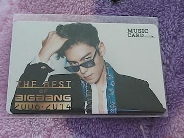 未使用☆TOP☆ミュージックカード☆