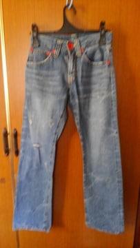 �@ココルルのジーンズ ダメージパンツ