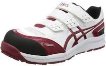 色ホワイト/バーガンディ サイズ26.0 cm 3E [アシックス] 安全靴