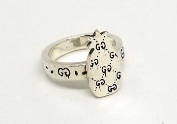 正規グッチゴーストリング指輪パイナップルGG柄16GG