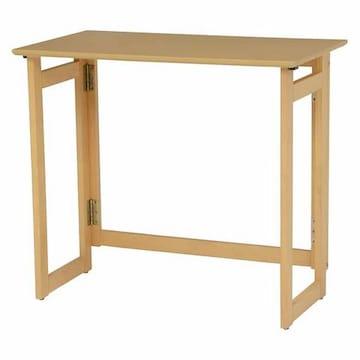 折りたたみテーブル(ナチュラル) VT-7812NA