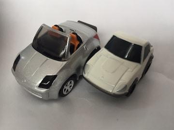 チョロQ・日産フェアレディZ、ちびっこ日産フェアレディ240Z 白