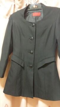 スーツ上のみジャケットウエストシェイプライン9号