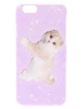 WEGO・ゆめかわネコフォトプリントiPhone6ケース。ピンク