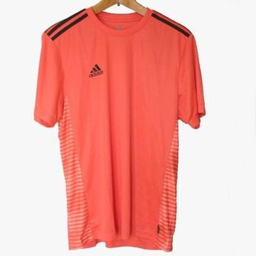 新品O★アディダス赤プラクティスクライマライトTシャツ