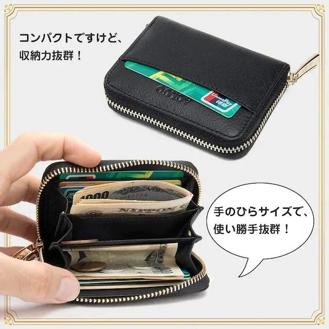 お試し2390円★新作本革 小銭入れ コインケース 黒 < 男性ファッションの
