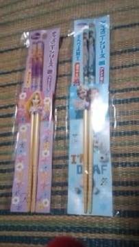 ディズニーシリーズ【箸】アナ雪&プリンセス