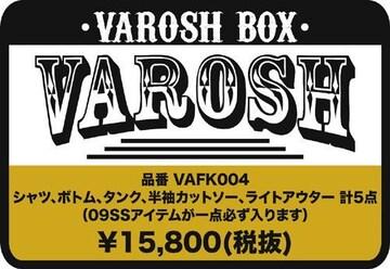 Varosh(ヴァロッシュ)福袋サマーBOX5点入り/L アメカジ