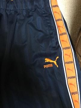 プーマ ジャージ上下 紺xオレンジ サイズM