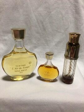 ニナリッチ レールデュタン 香水 50ml+パルファム 3個セット