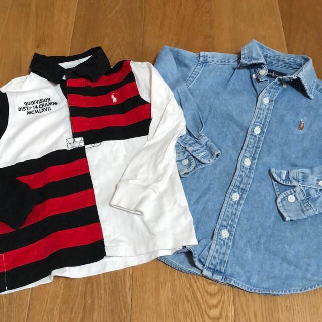 ラルフローレン デニムシャツTシャツ 110 120  < ブランドの