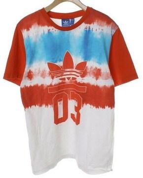 adidasアディダス☆ロゴマークTシャツ