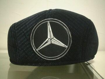 ★必見★激安★Mercedes-Benz★ハンチングキャップ★黒★新品★