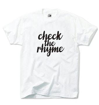 新品JANCHERIcheck the rhymeTシャツ送料込みS〜XL