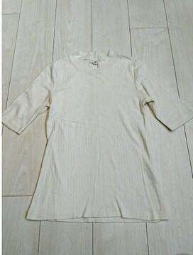 ユニクロ 綿100% シンプル半袖トップス サイズS