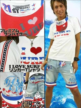 BUZZSPUNKYバズスパンキー I LOVE SURF3点SET/L