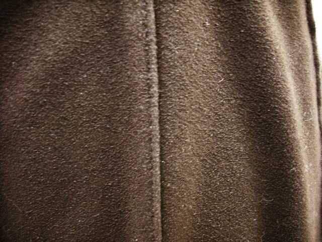 【YUKIKO HANAI】ピンタックのダークブラウンロングスカートです < ブランドの