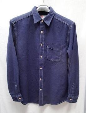 ■UNITEDPALETTE■日本製 綿100% 厚地 長袖シャツ/サイズL