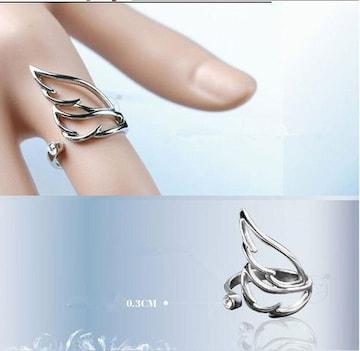 超最安値390円★◎人気  天使の翼 ファッションリング 指輪