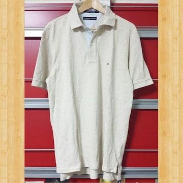 TOMMY HILFIGER トミーヒルフィガー ポロシャツ S 大きめ 超美品