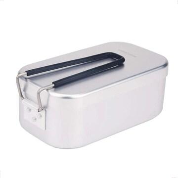 キャンプ用 メスティン アウトドア炊飯 アルミポータブル飯盒