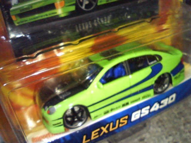 Jada  ジャダ 1/64  レクサスGS430  JZS16#  アリスト  黄緑 < ホビーの