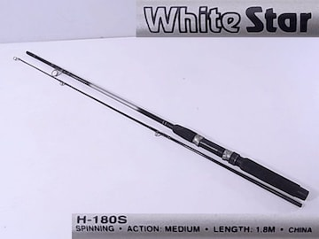 ルアーロッド White Star H-180S ◆ 即決!