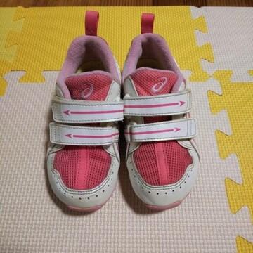アシックスasics靴スニーカー16cm16.5cm